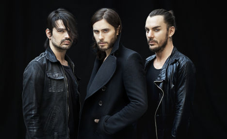 30 seconds to mars v praze